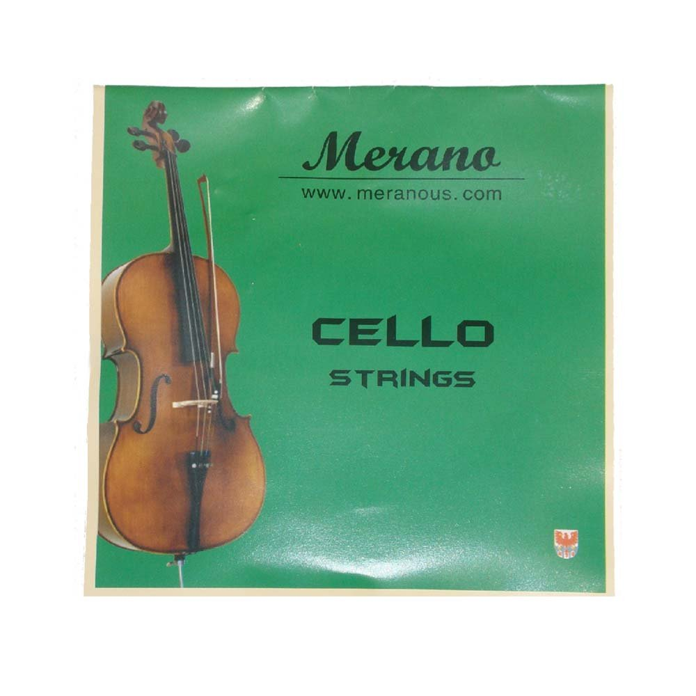 Merano 4/4 Full Size Blue Cello with Hard Case, Bag and Bow+2 Sets of String+Pitch Pipe+Cello Stand+Black Music Stand by Merano (Image #5)