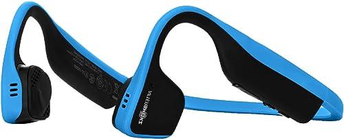 AfterShokz Titanium Open Ear Wireless Bone Conduction Headphones, Ocean Blue