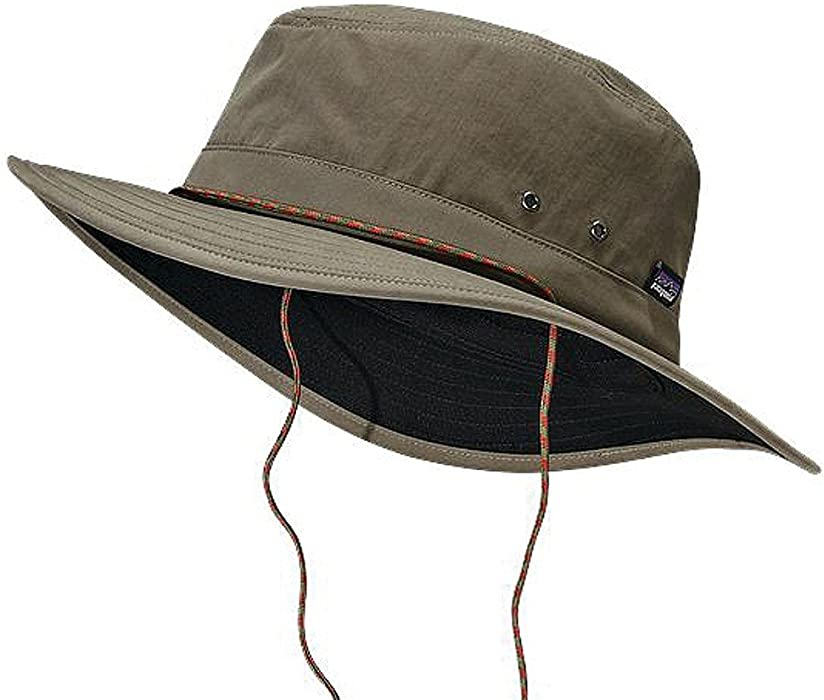 a55dfb83851 Patagonia Hats Tenpenny Water Repellent Bucket Hat - Green. Back.  Double-tap to zoom