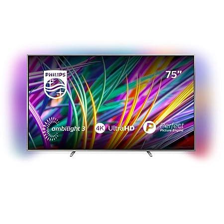Philips 75PUS8303/12 189 cm (75 Zoll) LED TV (Ambilight, 4K Ultra HD, Triple Tuner, Smart TV)