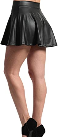 LADIES  A-LINE SKIRT 8 INCH 20 CM SKIRT A-LINE MICRO MINI SKIRT SIZE 4 to 22