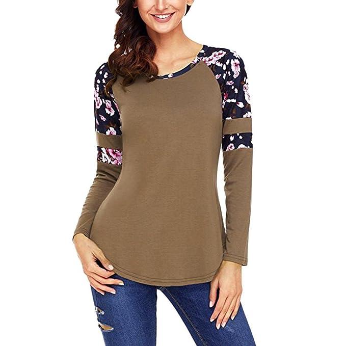 FAMILIZO Camisetas Mujer Verano Blusa Mujer Elegante Camisetas Mujer Fiesta Talla Grande Algodón Camiseta Mujer Fiesta