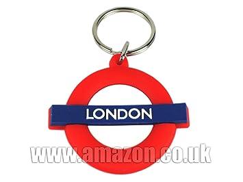 Transporte para Londres Llavero de goma