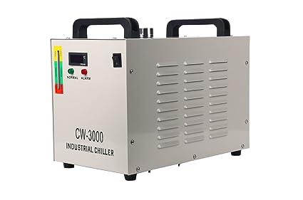 FreeTec 9L Industrial Agua enfriador 50 W Water Chiller enfriamiento de agua CW de 3000 thermolysis