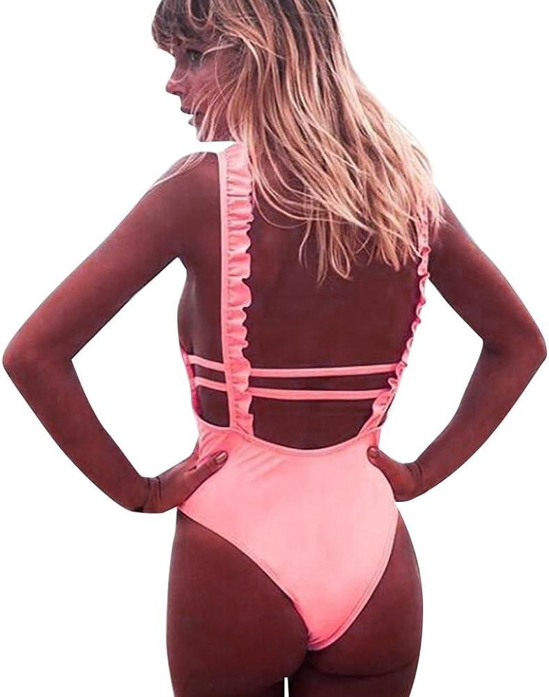 SHOBDW Traje de baño Mujeres de Moda Bikini Set Traje de ...