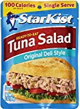 StarKist Tuna Salad, Chunk Light, 3-Ounce Pouch (Pack of 8)