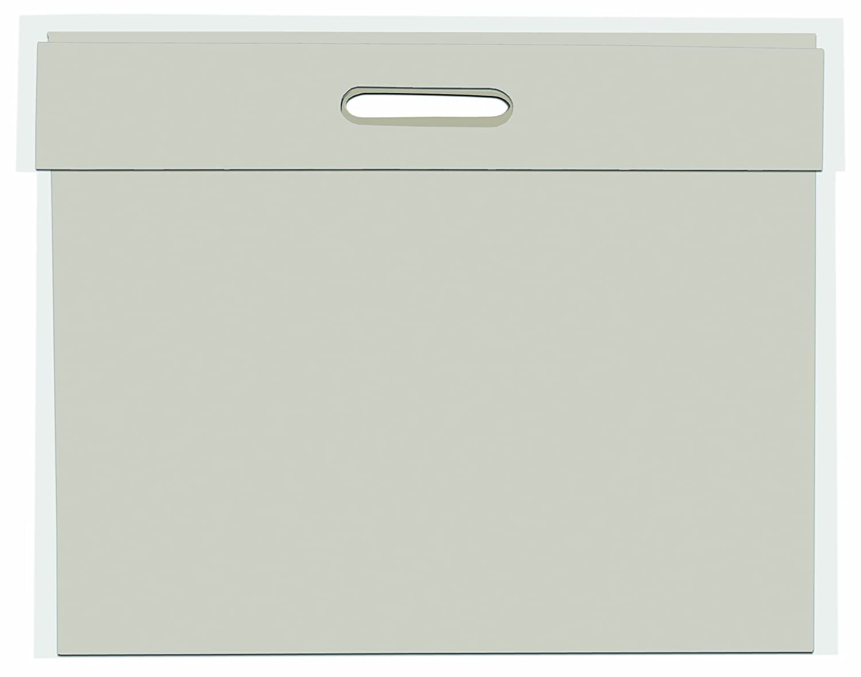 West Design DK330113 - Zeichenmappe mit Griffloch, DIN A1 Hergestellt in Großbritannien