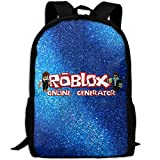 MKKR2 Roblax-robux 3D Adult Outdoor Leisure Sports Backpack And School Backpack