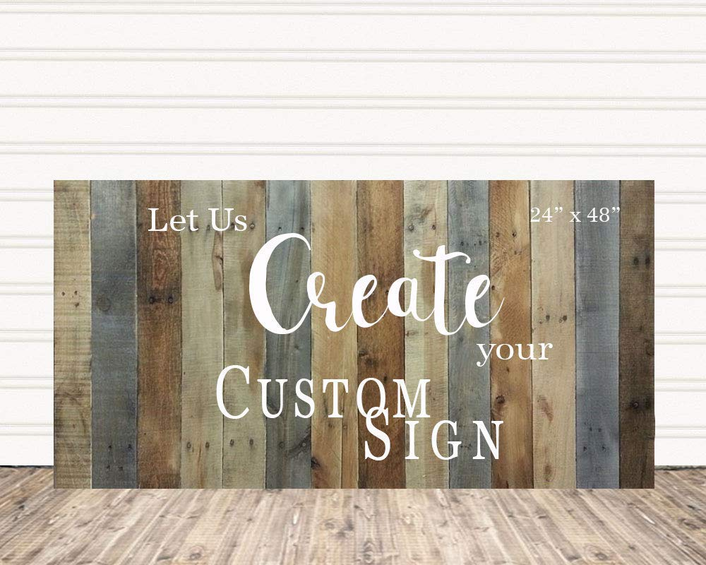 Amazon Com Custom Wood Sign For Small Business Or Office Decor C6 Handmade
