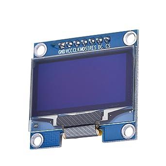 "HiLetgo® 1.3"" SPI 128x64 SSH1106 OLED LCD Display LCD Module para Arduino AVR PIC"