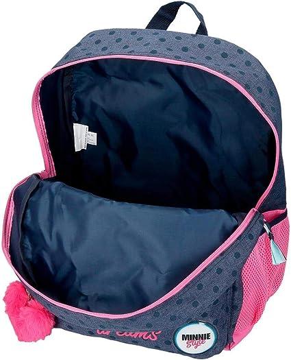 Joumma Backpack ADAP.42CM.2C.C//Trolley BIA Jeans Multi-Colour 42 cm Youth Unisex