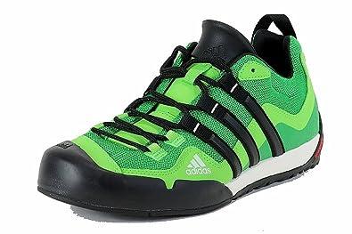 Adidas Terrex Swift Solo Shoe - Real Green   Black   Ray Green 10.5 ... 2e390d937