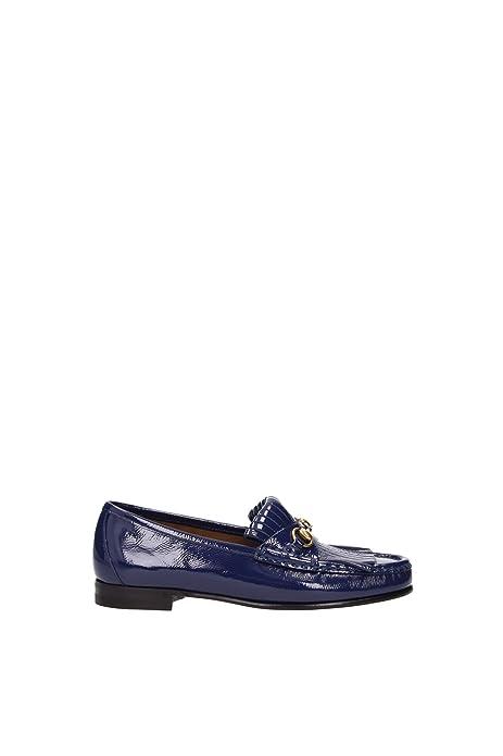 Gucci - Mocasines para mujer azul turquesa azul Size: 35: Amazon.es: Zapatos y complementos
