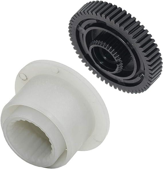 Engranaje corona + engranaje motor actuador caja transferencia ...