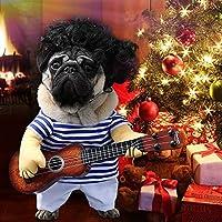 Idefair Funny Guitar Disfraces de mascotas para perros