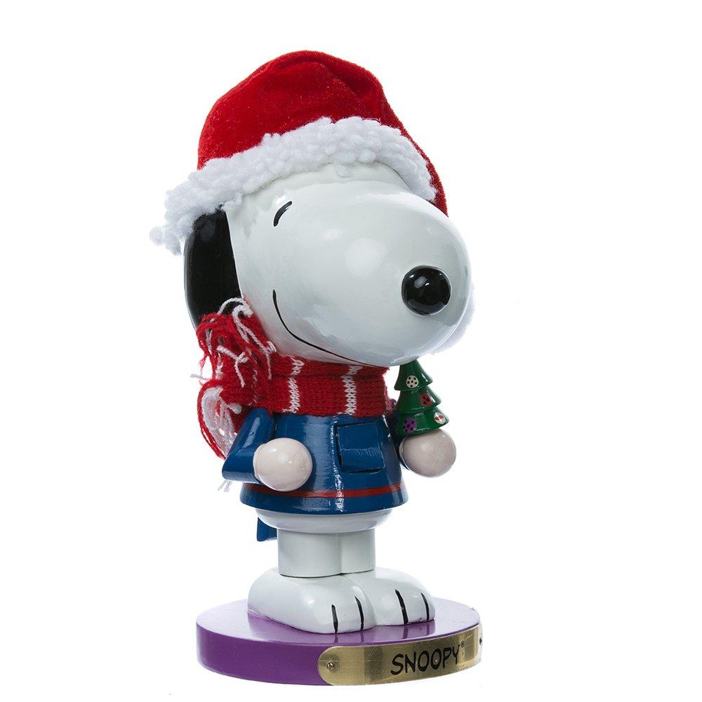 Kurt Adler PN6801L Snoopy Nutcracker, 10-Inch