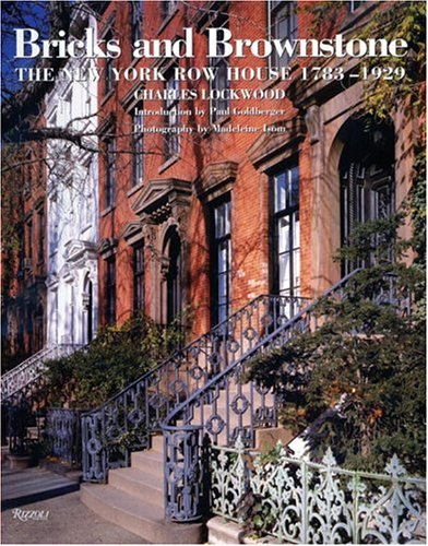 Row Houses (Bricks and Brownstone: The New York Row House 1783-1929 (Classical America Series in Art and Architecture))
