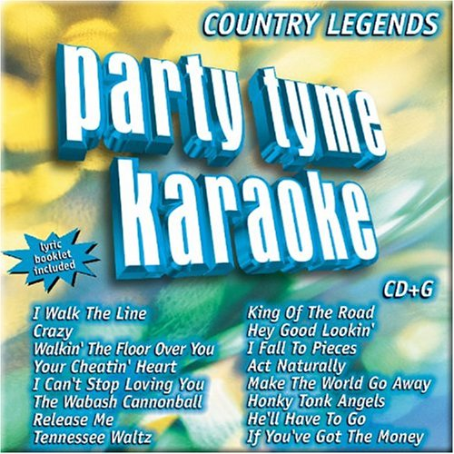 Party Tyme Karaoke - Country Legends 1 (16-song CD+G) by Sybersound