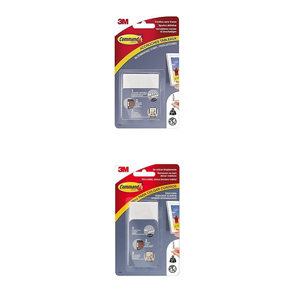 Misura M Command 57708 Strisce Appendiquadri Bianco