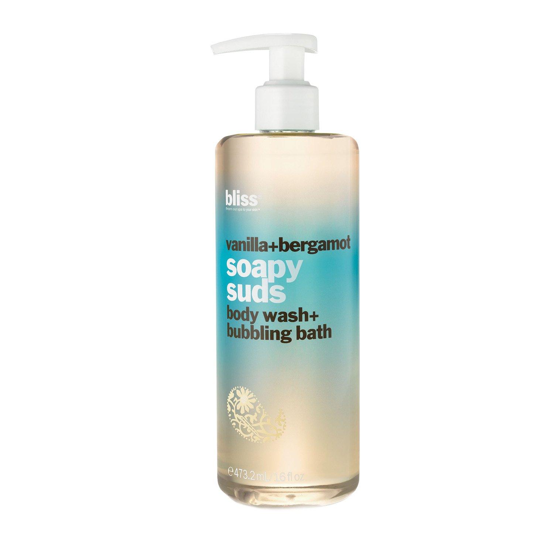 Amazon.com : bliss Soapy Suds, Vanilla + Bergamot, 16 fl. oz. : Bath ...