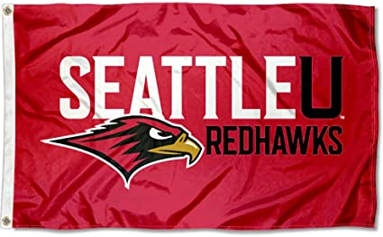 Amazon Com College Flags Banners Co Seattle University Redhawks 3x5 Flag Outdoor Flags Sports Outdoors