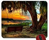 Sunset Camel Rides Broome Western Australia mouse pad computer mousepad