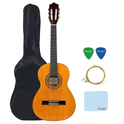 4 Size Classical Acoustic Guitar Strong Wind 39 Inch 6 Nylon Strings