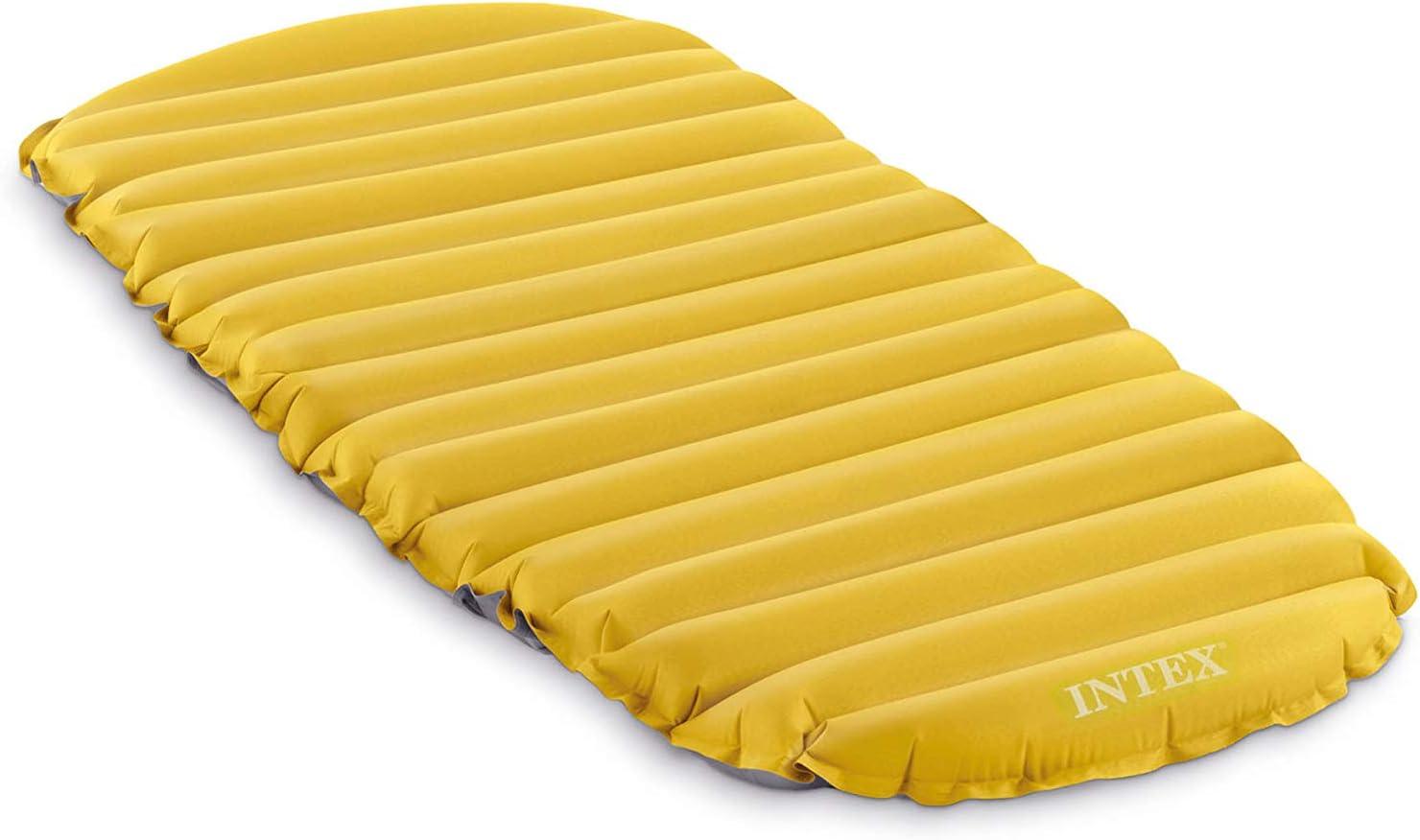 Intex 68708 - Colchón hinchable pvc & camping 76 x 183 x 10 cm