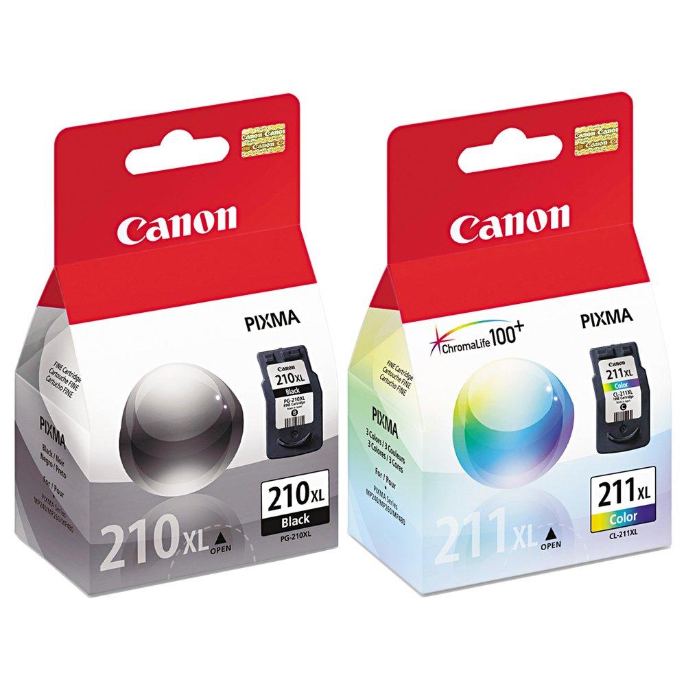 Amazon.com: Canon PIXMA MX410 (PG210XL/CL211XL) Extra High ...