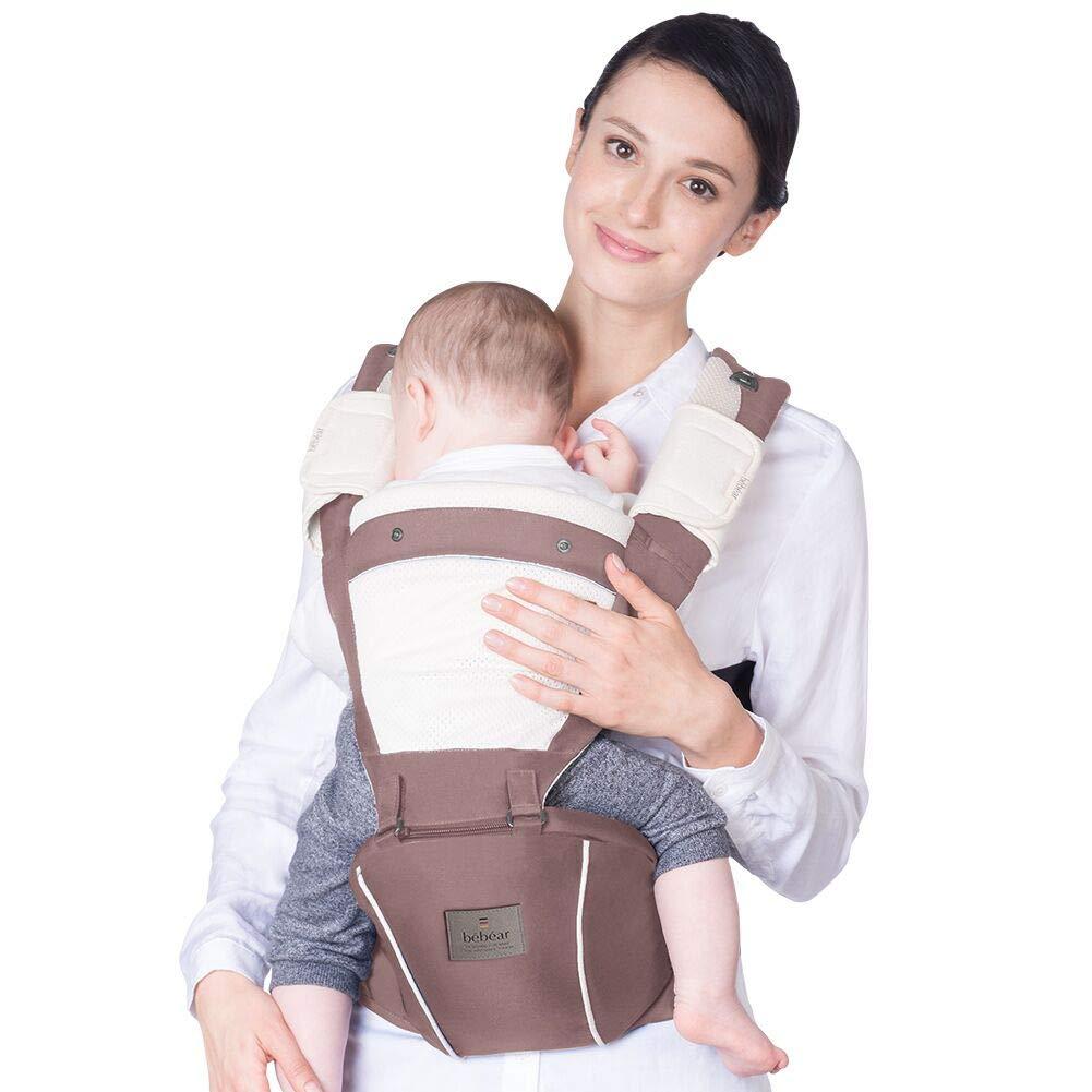 Bebamour Waistband Extender Adjustable Extension Belt Fit for Women /& Men Ergonomic Baby Carrier Waistband Extender Denim Blue