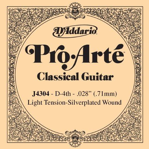 D'Addario J4304 Pro-Arte Nylon Classical Guitar Single Strin