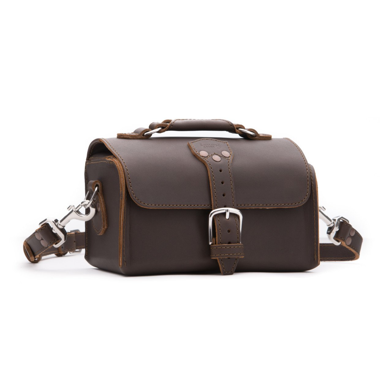 Saddleback Leather Travel Case in Dark Coffee Brown by Saddleback Leather Co.