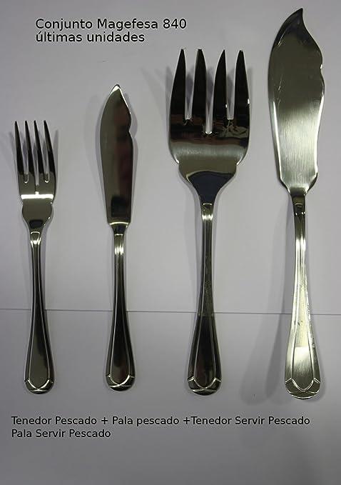 Cubertería magefesa mod.840 (Pala y Tenedor Servir +6 tenedores+6 palas