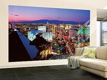 Amazoncom Vegas Lights Wall Mural Home Kitchen