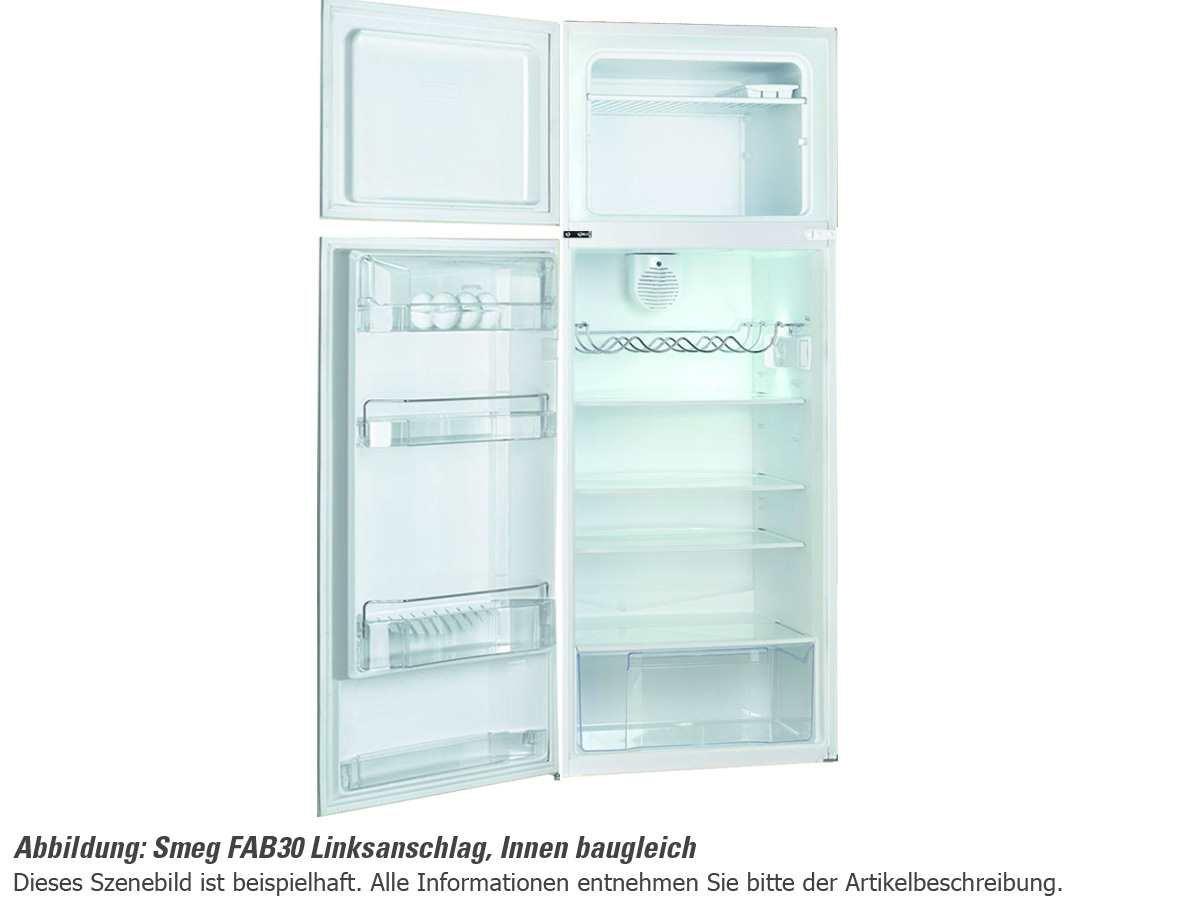 Smeg FAB30LB1 Stand Kühl-Gefrier-Kombination Weiß 50er Jahre ...