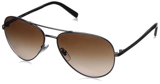 DKNY 0dy5083 - Gafa de sol aviador color plateado oscuro con ...