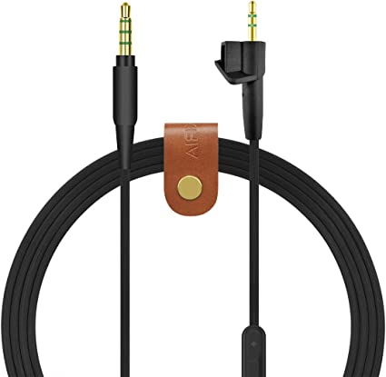 Replacement Audio Cable Cord w// Mic For BOSE Around-Ear AE2 AE2i AE2w Headphones