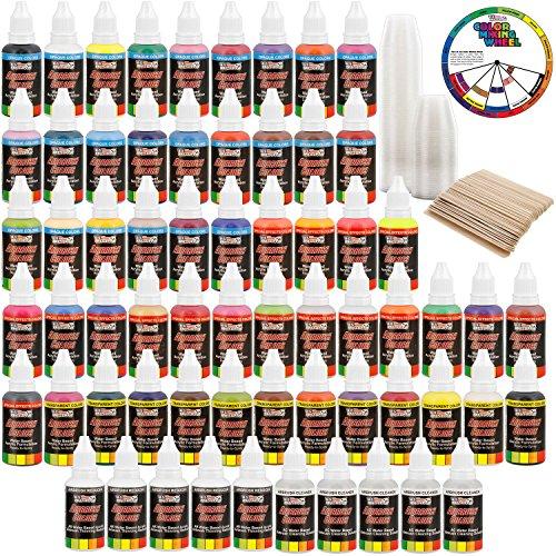 Art Supply Ultimate 50 Plastic 50 Wooden