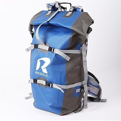 Amazon.com : Resecu 100% Waterproof Backpack - Dry Bag Closure ...