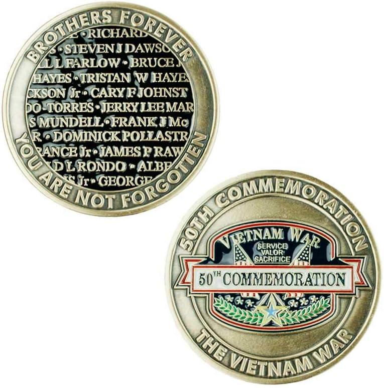United States Marine Corps Washington DC Vietnam Memorial Gold-Plated Medal