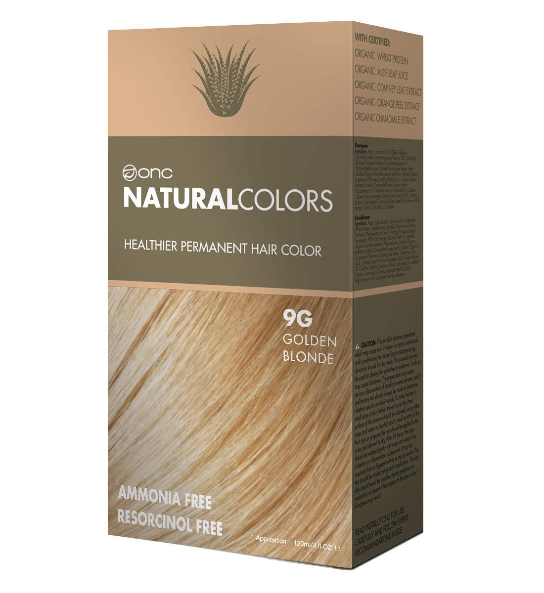 Amazon Onc Naturalcolors 8g Honey Blonde Healthier Permanent