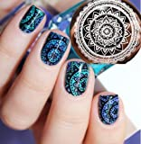 Nicole Diary Nail Art Full Flower Design Stamp Template Image Plate Pattern