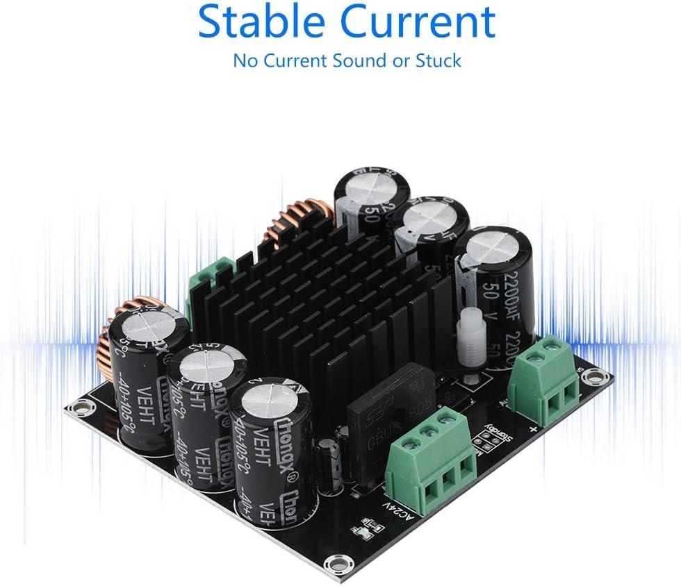 Annadue Amplificador de Potencia de Audio Amplificador de Placa M/ódulo est/éreo de Alta fidelidad Grande 420W con Placa de Amplificador de protecci/ón multinivel AC12-28V