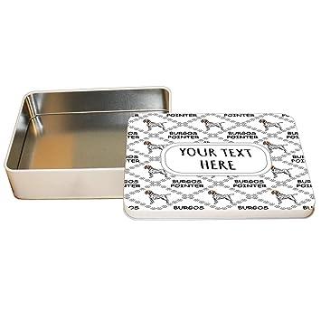 Amazon.com: Style In Print Aluminum Metal Tin Custom Burgos ...