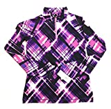 Ideology Quarter-Zip Jacket, Big Girls Perfrmnce Plaid M