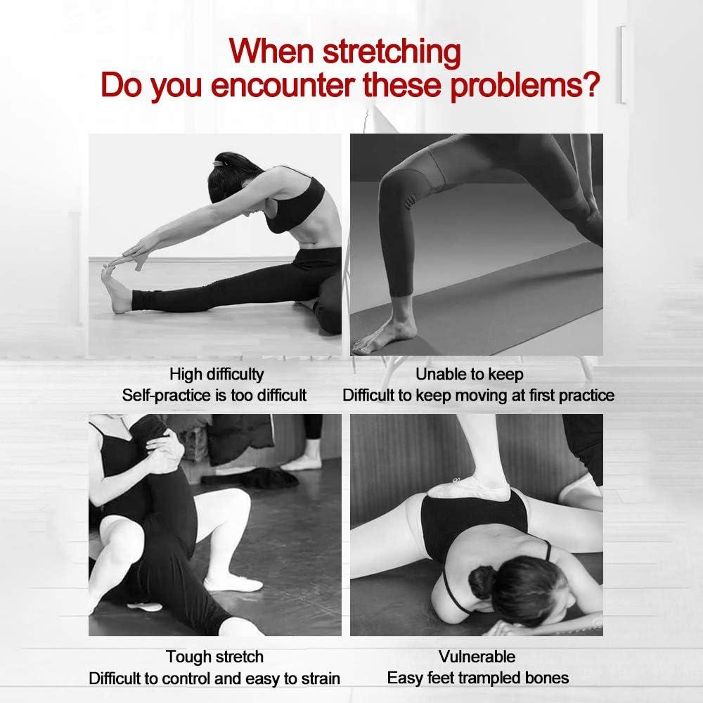 Muay Thai und Gymnastik Kickboxen EZSMART Beinspreizer 3-Bar Beinstrecker fur Leg Flexibilit/ät Ausbildung Tanz Ballett Yoga Strapazierf/ähiger Beintrainer f/ür Kampfsport