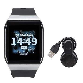 Reloj Deportivo a Prueba de Agua, Smartwatch portátil de Plata ...