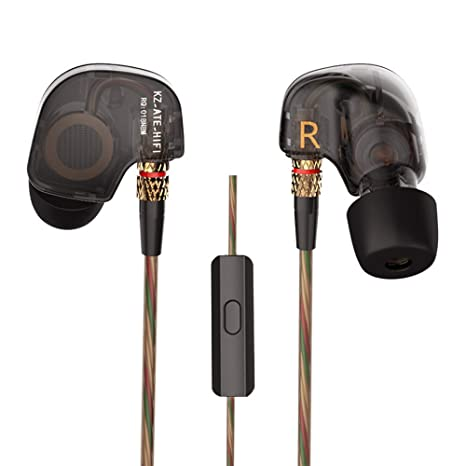 Docooler 3.5 mm in-ear cuffie HiFi Stereo Music Headset rame driver  auricolari con isolamento 55c8ad95873b