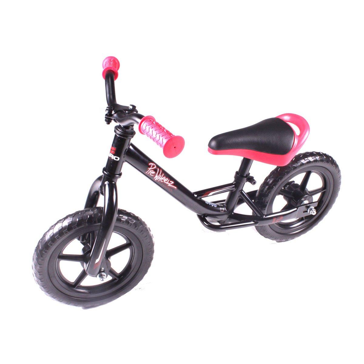 Haro PreWheelz 12 子供用二輪車ブラック B01F7M7HT2