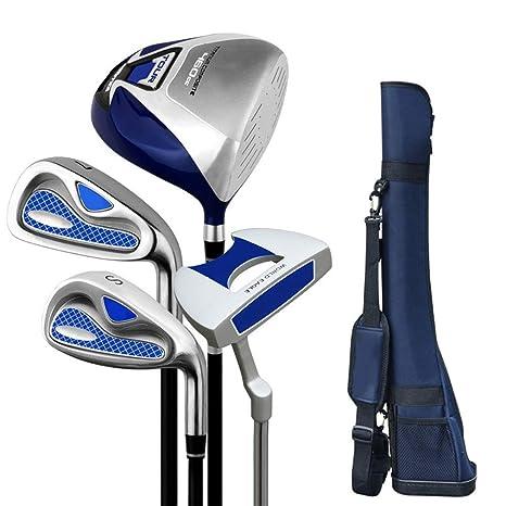 YBWEN Cuña de Golf Putter de Golf Práctica Completa Juego de ...